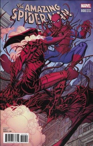 AMAZING SPIDER-MAN #800 BRADSHAW VARIANT