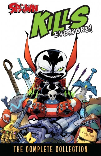 SPAWN KILLS EVERYONE THE COMPLETE COLLECTION VOLUME 1 GRAPHIC NOVEL