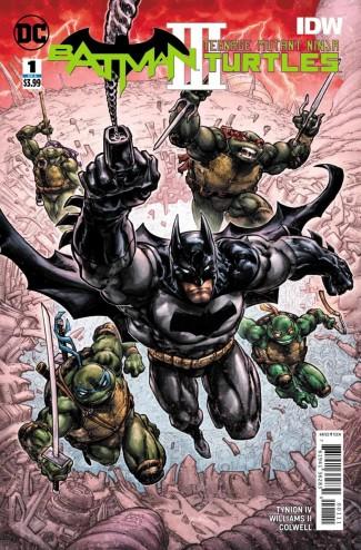 BATMAN TEENAGE MUTANT NINJA TURTLES III #1