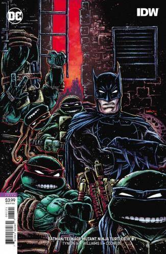 BATMAN TEENAGE MUTANT NINJA TURTLES III #1 VARIANT