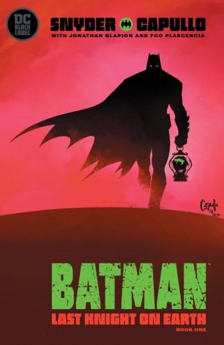 BATMAN LAST KNIGHT ON EARTH #1