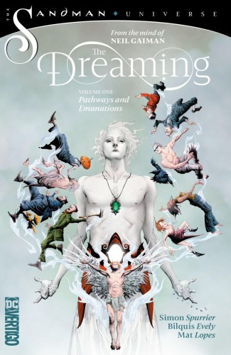 DREAMING VOLUME 1 PATHWAYS AND EMANATIONS GRAPHIC NOVEL
