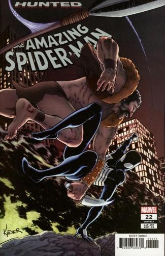 AMAZING SPIDER-MAN #22 (2018 SERIES) KUDER 1 IN 25 INCENTIVE VARIANT