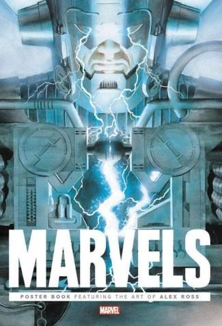 MARVELS POSTER BOOK GRAPHIC NOVEL