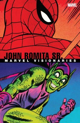 MARVEL VISIONARIES JOHN ROMITA SR GRAPHIC NOVEL