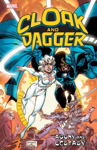 CLOAK AND DAGGER AGONY AND ECSTASY GRAPHIC NOVEL