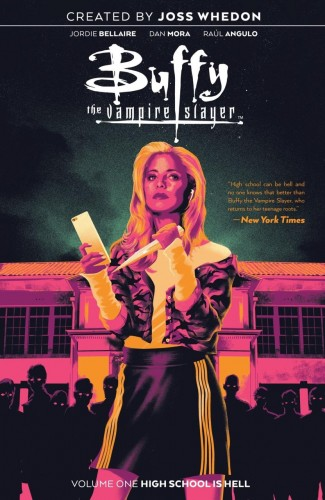 BUFFY THE VAMPIRE SLAYER VOLUME 1 HIGH SCHOOL IS HELL GRAPHIC NOVEL