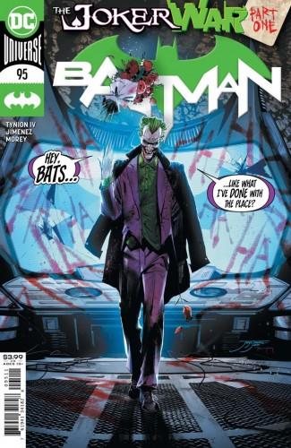 BATMAN #95 (2016 SERIES) JOKER WAR TIE-IN