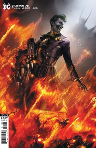BATMAN #95 (2016 SERIES) JOKER WAR TIE-IN FRANCESCO MATTINA VARIANT