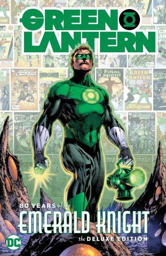 GREEN LANTERN 80 YEARS OF THE EMERALD KNIGHT HARDCOVER