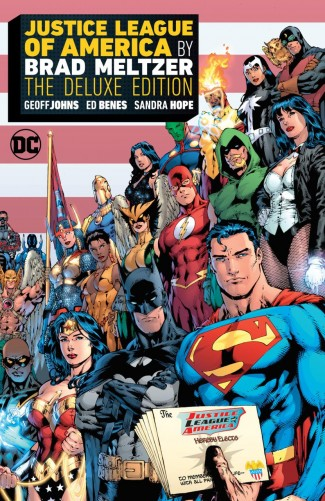 JUSTICE LEAGUE OF AMERICA BY BRAD MELTZER DELUXE EDITION HARDCOVER