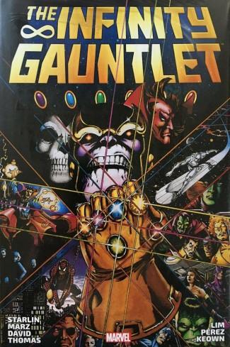 INFINITY GAUNTLET OMNIBUS HARDCOVER PEREZ COVER (NEW PRINTING)