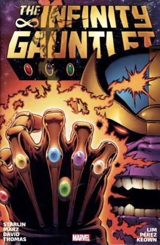 INFINITY GAUNTLET OMNIBUS HARDCOVER STARLIN DM VARIANT COVER (NEW PRINTING)