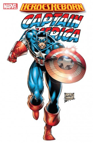 HEROES REBORN CAPTAIN AMERICA GRAPHIC NOVEL (NEW PRINTING)