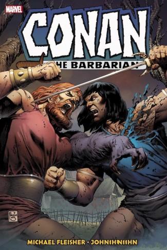 CONAN THE BARBARIAN THE ORIGINAL MARVEL YEARS OMNIBUS VOLUME 6 HARDCOVER