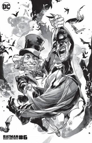 BATMAN BLACK AND WHITE #6 (2020 SERIES) YASMINE PUTRI MAD HATTER VARIANT