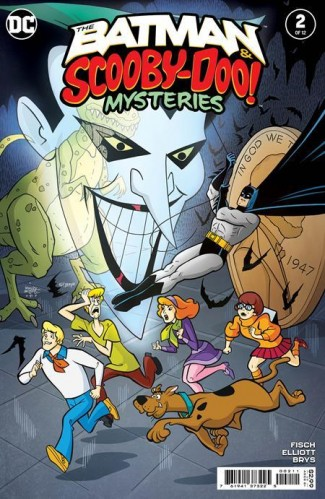 BATMAN AND SCOOBY DOO MYSTERIES #2