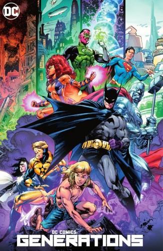 DC COMICS GENERATIONS HARDCOVER