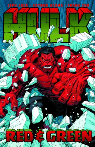 HULK VOLUME 2 RED AND GREEN GRAPHIC NOVEL