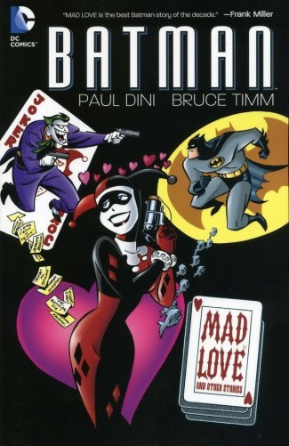 BATMAN MAD LOVE AND OTHER STORIES GRAPHIC NOVEL