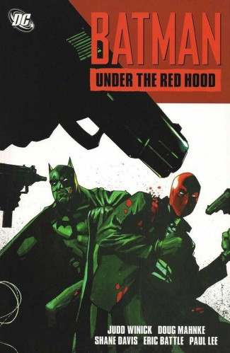 BATMAN UNDER THE RED HOOD GRAPHIC NOVEL