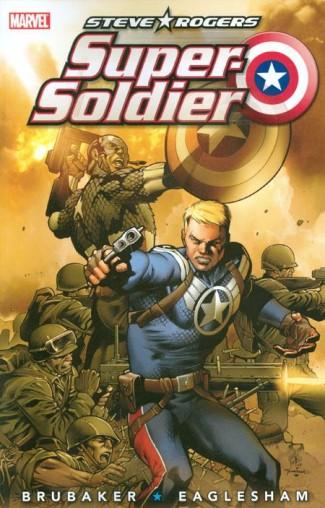 STEVE ROGERS SUPER SOLDIER GRAPHIC NOVEL