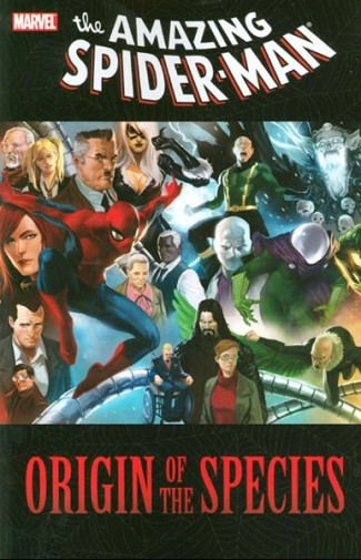 SPIDER-MAN ORIGIN OF THE SPECIES GRAPHIC NOVEL