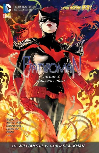 BATWOMAN VOLUME 3 WORLDS FINEST HARDCOVER
