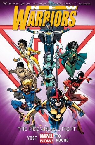 NEW WARRIORS VOLUME 1 THE KIDS ARE ALL FIGHT GRAPHIC NOVEL