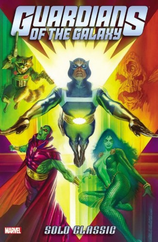 GUARDIANS OF THE GALAXY SOLO CLASSIC OMNIBUS HARDCOVER