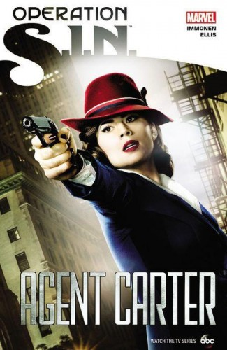 OPERATION SIN AGENT CARTER GRAPHIC NOVEL