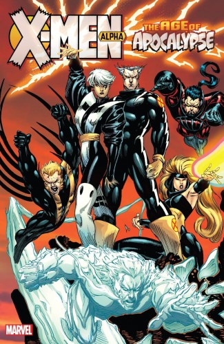 X-MEN AGE OF APOCALYPSE VOLUME 1 ALPHA GRAPHIC NOVEL