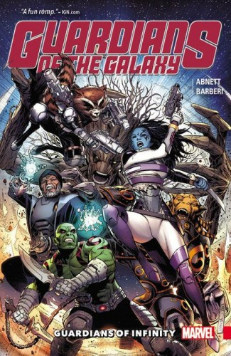 GUARDIANS OF THE GALAXY GUARDIANS OF INFINITY GRAPHIC NOVEL