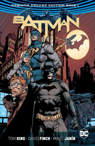 BATMAN REBIRTH DELUXE COLLECTION BOOK 1 HARDCOVER