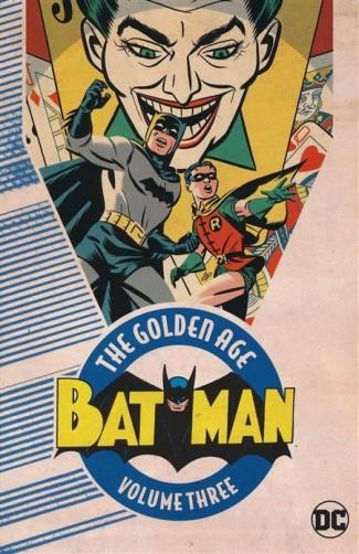 BATMAN THE GOLDEN AGE VOLUME 3 GRAPHIC NOVEL