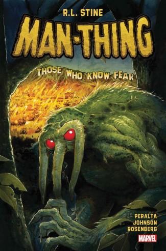 MAN-THING BY R. L. STINE VOLUME 1 GRAPHIC NOVEL