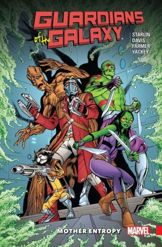 GUARDIANS OF THE GALAXY MOTHER ENTROPY GRAPHIC NOVEL