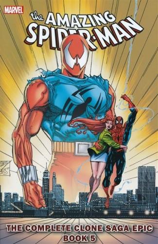 SPIDER-MAN COMPLETE CLONE SAGA EPIC BOOK 5 GRAPHIC NOVEL