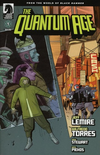 QUANTUM AGE FROM WORLD OF BLACK HAMMER #1