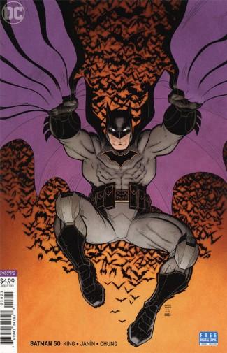 BATMAN #50 (2016 SERIES) ARTHUR ADAMS VARIANT