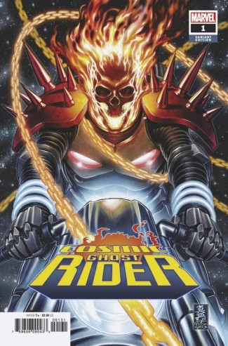 COSMIC GHOST RIDER #1 - 1 IN 50 BROOKS VARIANT