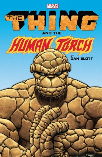 THING AND HUMAN TORCH BY DAN SLOTT GRAPHIC NOVEL