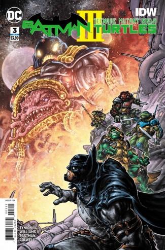 BATMAN TEENAGE MUTANT NINJA TURTLES III #3