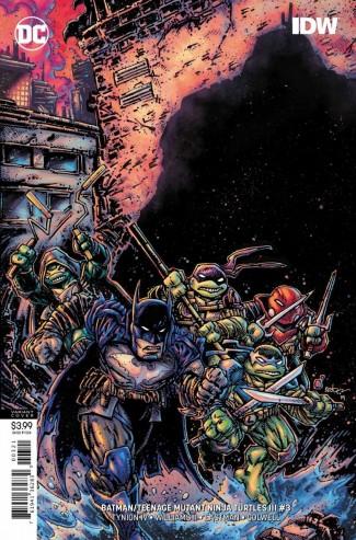 BATMAN TEENAGE MUTANT NINJA TURTLES III #3 VARIANT