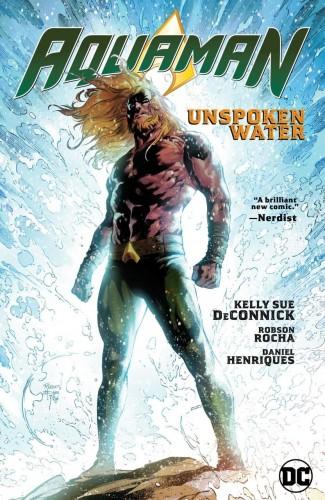 AQUAMAN VOLUME 1 UNSPOKEN WATER HARDCOVER
