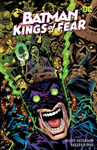 BATMAN KINGS OF FEAR HARDCOVER