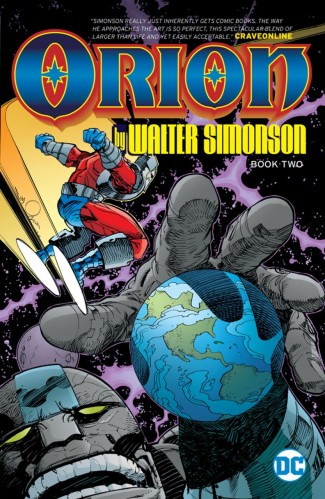 ORION BY WALTER SIMONSON BOOK 2 GRAPHIC NOVEL