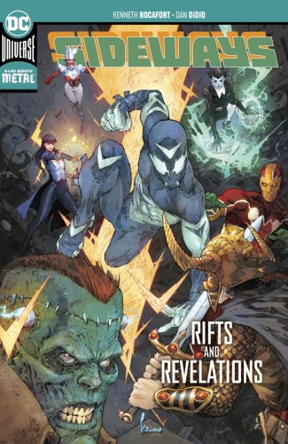 SIDEWAYS VOLUME 2 RIFTS AND REVELATIONS GRAPHIC NOVEL