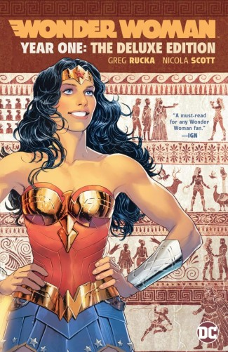 WONDER WOMAN YEAR ONE DELUXE EDITION HARDCOVER