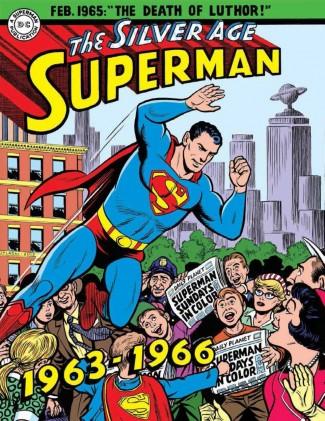 SUPERMAN SILVER AGE SUNDAYS VOLUME 2 HARDCOVER 1963 - 1966